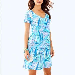 Lilly Pulitzer Jessica Short Sleeve Dress Verbena